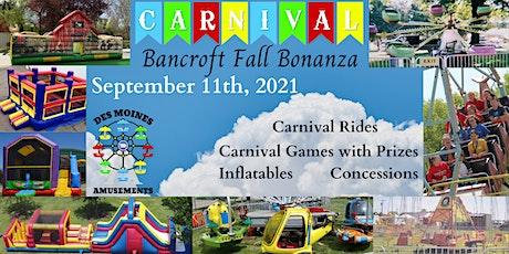 Bancroft Fall Bonanza tickets