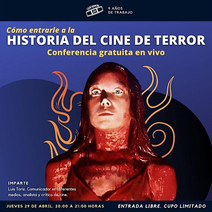 Imagen de Masterclass gratuita: Cómo entrarle al Cine de terror