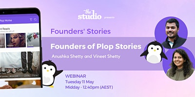 Anushka Shetty and Vineet Shetty, Founders of Plop Stories