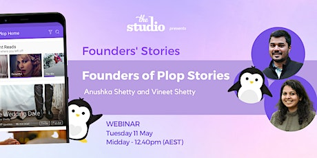 Anushka Shetty and Vineet Shetty, Founders of Plop Stories tickets