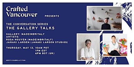 The Gallery Talks: MADEINBRITALY | Rosa Nguyen & Janaki Larsen tickets