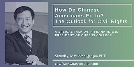 How Do Chinese Americans Fit In? The Outlook for Civil Rights tickets