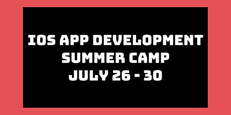 iOS App Development Summer Camp: July 26th - 30th tickets