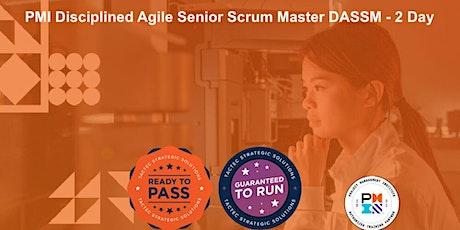 PMI Disciplined Agile Senior Scrum Master DASSM - 2 Day entradas