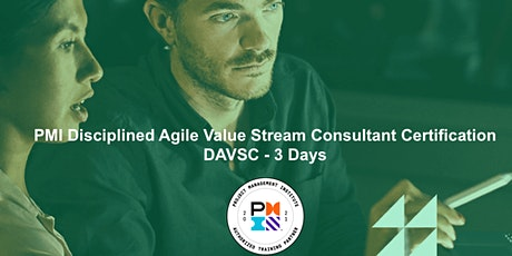 PMI Disciplined Agile Value Stream Consultant DAVSC - 3 Days entradas