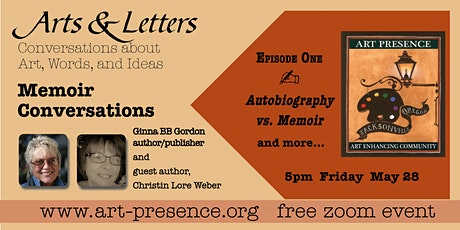 Memoir Conversations: the art of telling your story. Episode 1 tickets