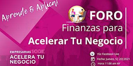 Foro de Finanzas - Acelera tu Negocio entradas
