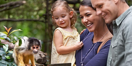 An ADF families event: Zoo day out, Hunter tickets