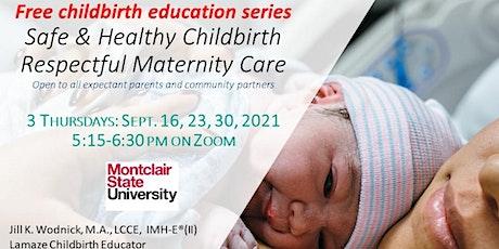 Free online Prenatal Childbirth Education 3 week September series tickets