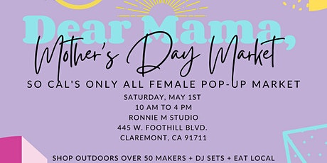 The Female Maker Market tickets