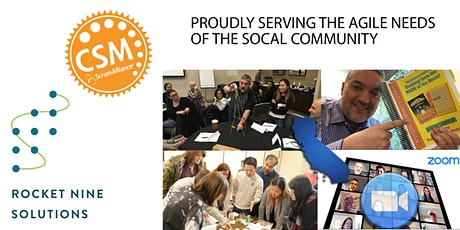 Vic Bonacci|Orange County|Online|Certified Scrum Master|CSM |May 20,2021 tickets