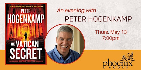 An evening with Peter Hogenkamp tickets