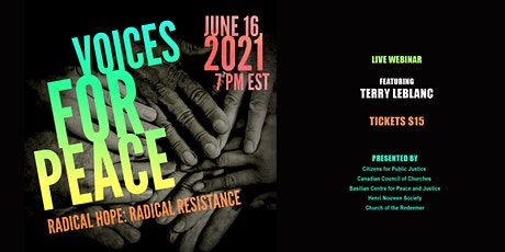 Voices for Peace 2021 - Radical Hope, Radical Resistance Event #2 tickets