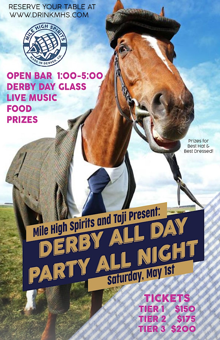 Derby All Day and Party All Night! image