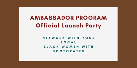 Official BWPHDS Ambassadors Launch Party tickets