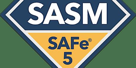 SAFe Advanced Scrum Master (ASM) Tickets