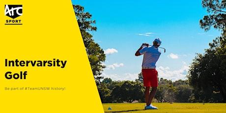Intervarsity | Golf tickets