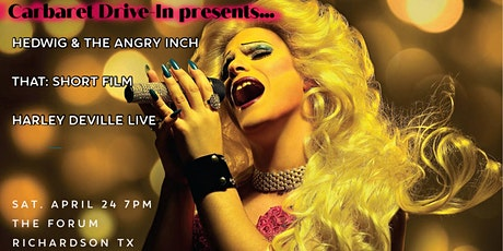 Carbaret Drive-In presents Hedwig and the Angry Inch + THAT: A Short Film tickets
