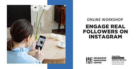 [Online] Engage Real Followers on Instagram tickets