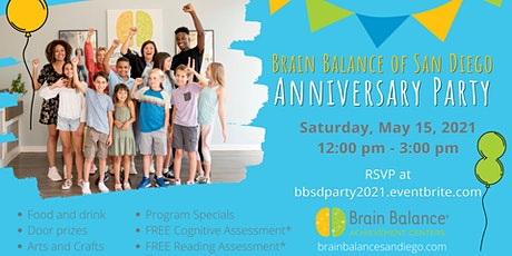 Brain Balance San Diego Anniversary Party tickets