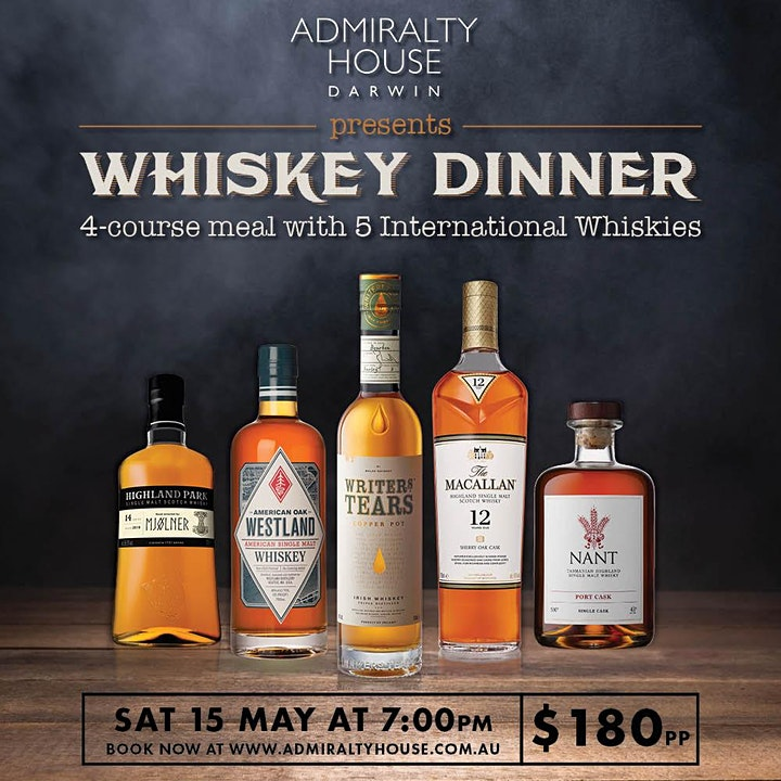 Peat and Meat Whisky Dinner image