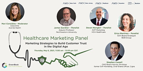 Healthcare Marketing Panel - Build Customer Trust in the Digital Age tickets
