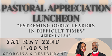 Pastoral Appreciation Luncheon for The Peart's tickets