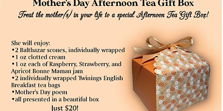 Mother's Day Afternoon Tea Box tickets