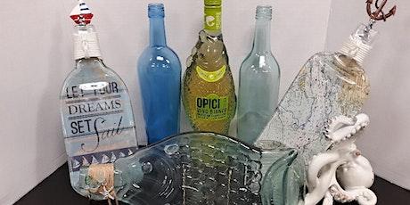 Nautical Themed Wine & Slumping Bottle Craft Workshop tickets