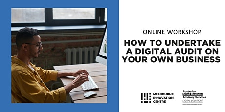 [Online] How to Undertake a Digital Audit on your Own Business tickets