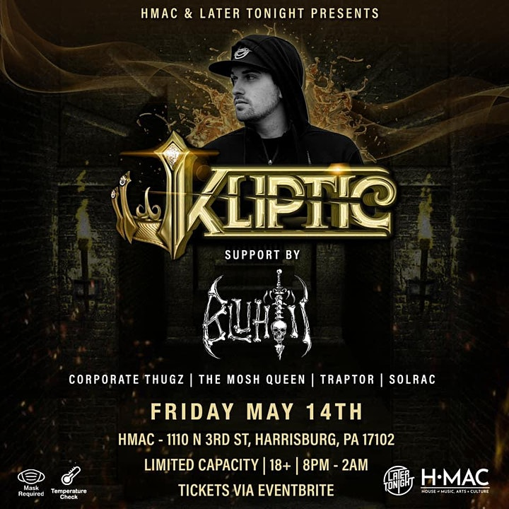 KLIPTIC & BLUHTII w/ Friends of Later Tonight image