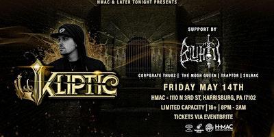 KLIPTIC & BLUHTII w/ Friends of Later Tonight