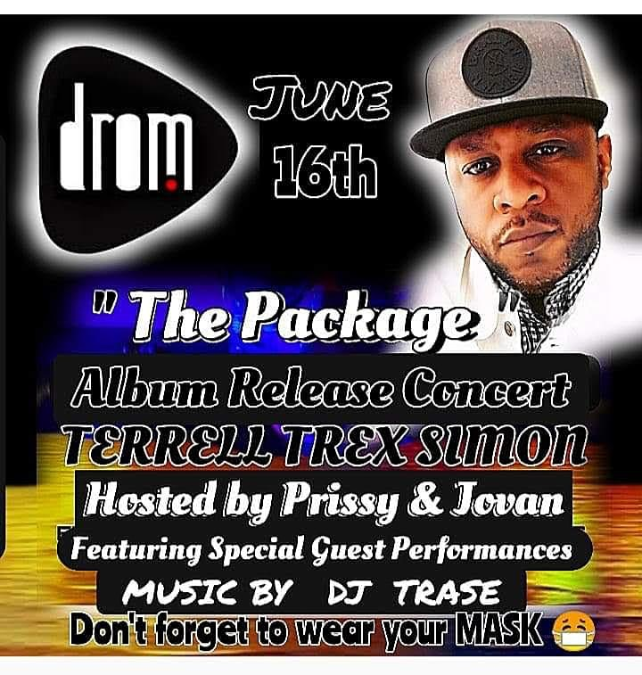 """""""The Package"""" Album Release Concert Terrell T-Rex Simon Music by DJ Trase image"""
