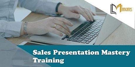 Sales Presentation Mastery 2 Days Virtual Live Training in Philadelphia, PA tickets