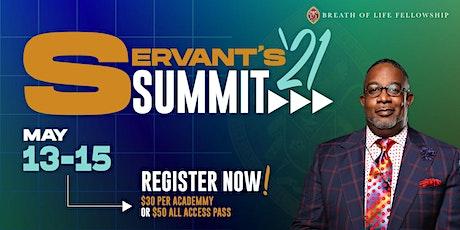 """Servant's Summit 2021 """"REFRESH"""" tickets"""