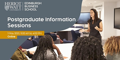 Postgraduate Information Sessions - Edinburgh Business School tickets