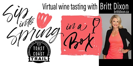 Saturday May 15 -  Sip into Spring in a Box, Virtual Tasting Event tickets