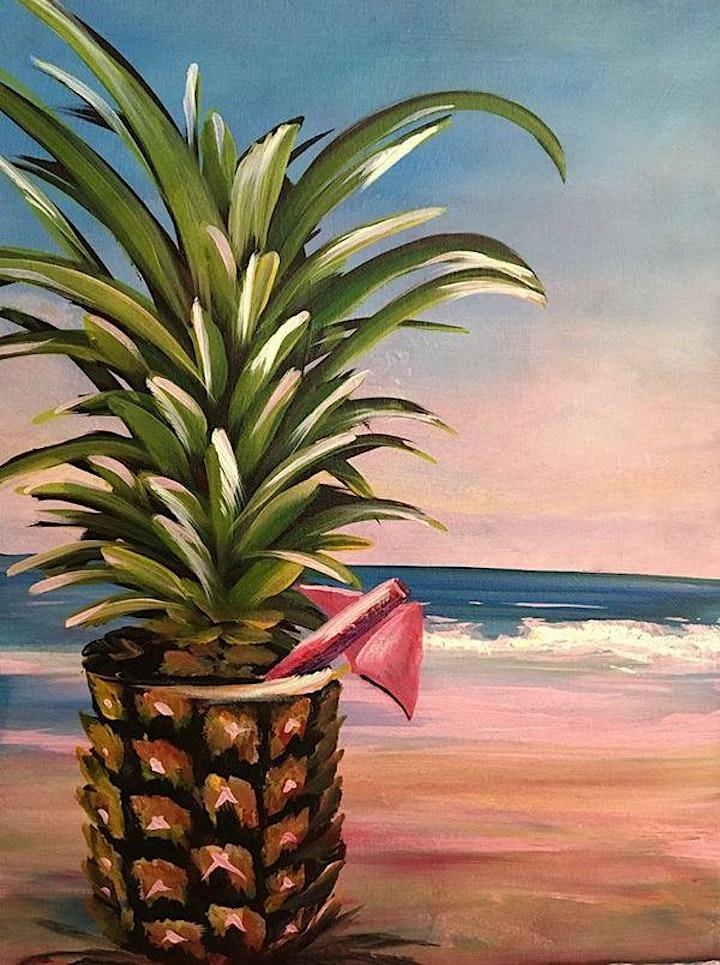 Virtual Paint Party:  Pina Beach image