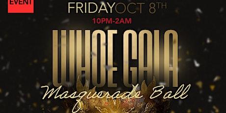 WHOE Gala: Masquerade Ball Edition (22+) tickets