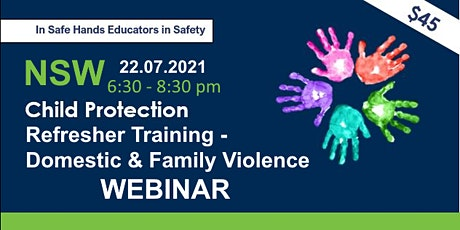 Child Protection Refresher Training-Domestic & Family Violence Webinar NSW tickets