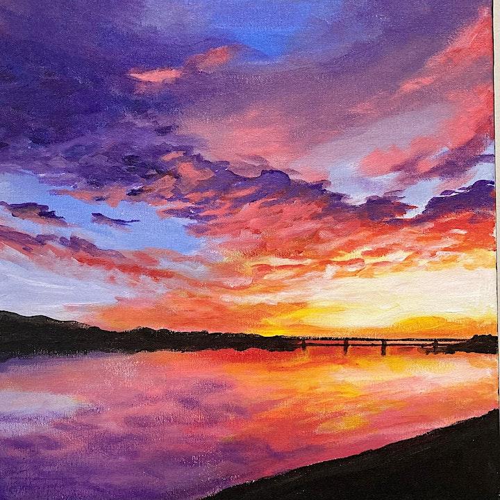 Bubbles & Brush - Sunset image