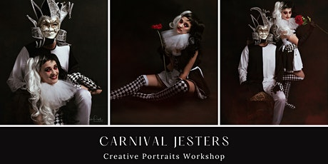 Creative Portrait Workshop -Carnival Jesters - PM Session tickets