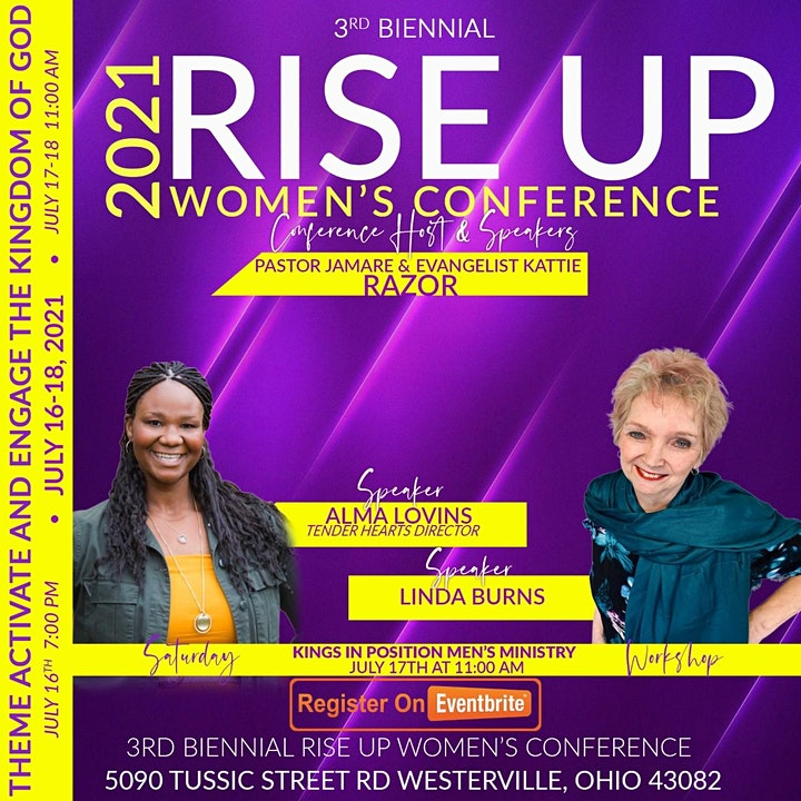 3rd Biennial Rise Up Women's Conference image