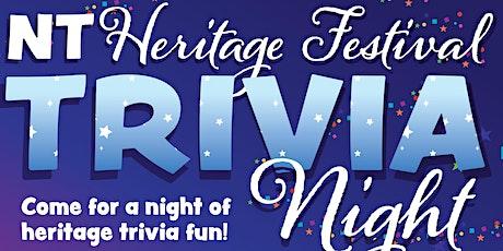 NT Heritage Festival Trivia Night tickets