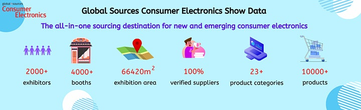 Global Sources Consumer Electronics Show image