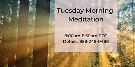 Tuesday Morning Guided Meditation tickets