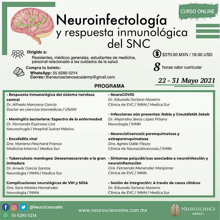 Imagen de Neuroinfectología: Respuesta inmunológica del SNC