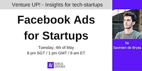 Facebook Ads for Startups tickets