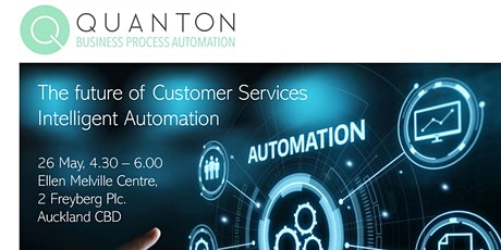 The Future of Customer Service - Leveraging Intelligent Automation tickets