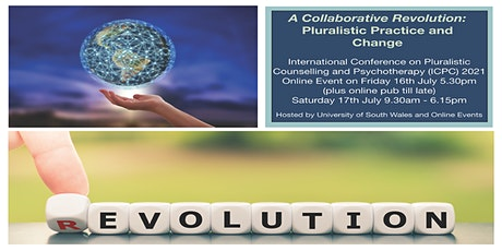 International Conference on Pluralistic Counselling and Psychotherapy tickets
